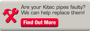 Are your Kitec pipes faulty? We can help replace them!